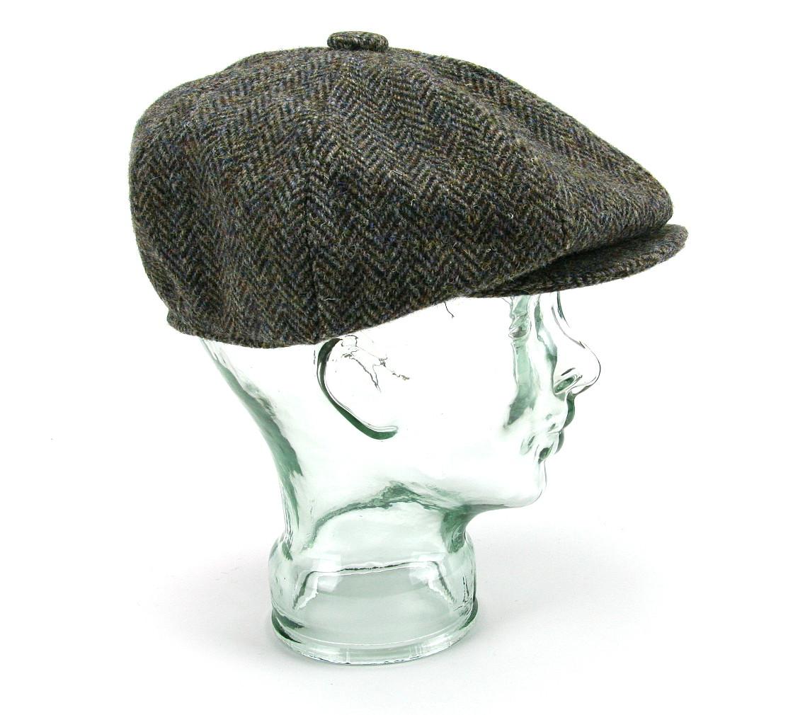 "b7cbf7bd Harris Tweed Baker Boy ""Gatsby"" Cap | Glencroft Wholesale"
